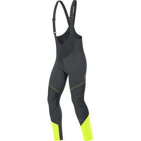 GORE BIKE WEAR Element WS Soft Shell Bibtights+ Men black/neon yellow